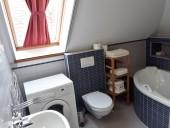 Emeleti két hálószoba és nappalis apartman